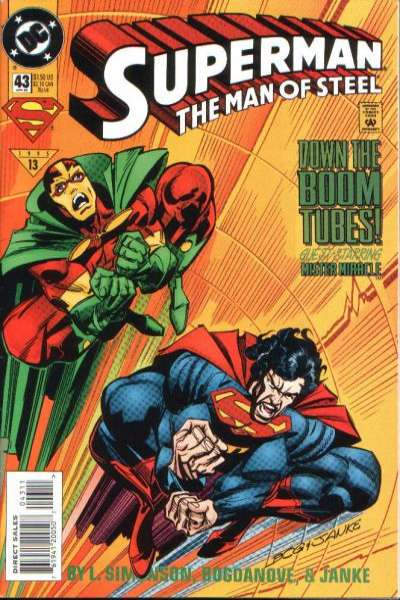 Superman: The Man of Steel #43 Comic Books - Covers, Scans, Photos  in Superman: The Man of Steel Comic Books - Covers, Scans, Gallery