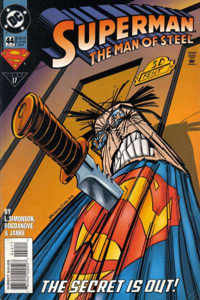 Superman: The Man of Steel #44 Comic Books - Covers, Scans, Photos  in Superman: The Man of Steel Comic Books - Covers, Scans, Gallery