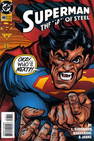 Superman: The Man of Steel #46 Comic Books - Covers, Scans, Photos  in Superman: The Man of Steel Comic Books - Covers, Scans, Gallery