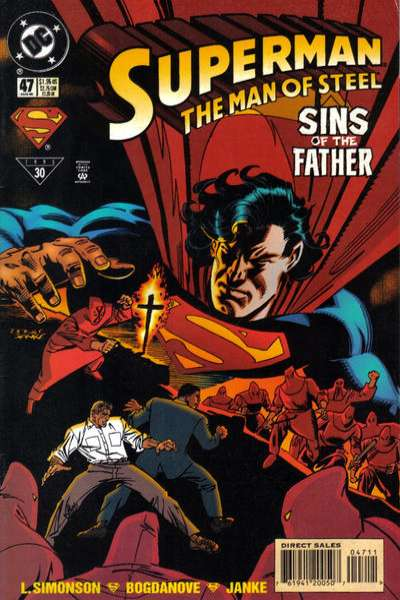 Superman: The Man of Steel #47 Comic Books - Covers, Scans, Photos  in Superman: The Man of Steel Comic Books - Covers, Scans, Gallery