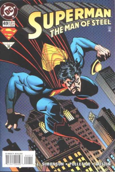 Superman: The Man of Steel #49 Comic Books - Covers, Scans, Photos  in Superman: The Man of Steel Comic Books - Covers, Scans, Gallery