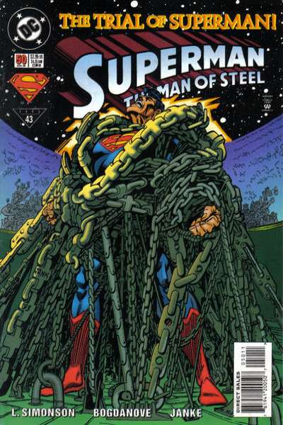 Superman: The Man of Steel #50 Comic Books - Covers, Scans, Photos  in Superman: The Man of Steel Comic Books - Covers, Scans, Gallery