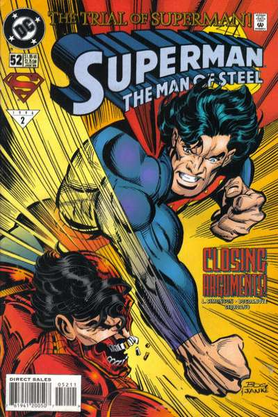 Superman: The Man of Steel #52 Comic Books - Covers, Scans, Photos  in Superman: The Man of Steel Comic Books - Covers, Scans, Gallery