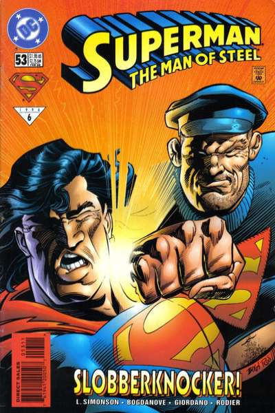 Superman: The Man of Steel #53 Comic Books - Covers, Scans, Photos  in Superman: The Man of Steel Comic Books - Covers, Scans, Gallery