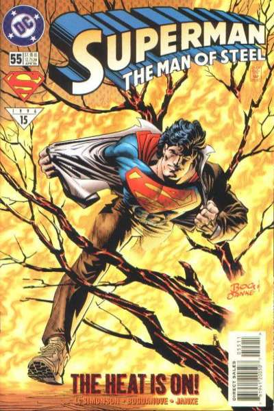 Superman: The Man of Steel #55 Comic Books - Covers, Scans, Photos  in Superman: The Man of Steel Comic Books - Covers, Scans, Gallery
