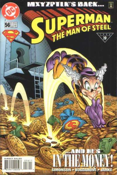 Superman: The Man of Steel #56 comic books for sale