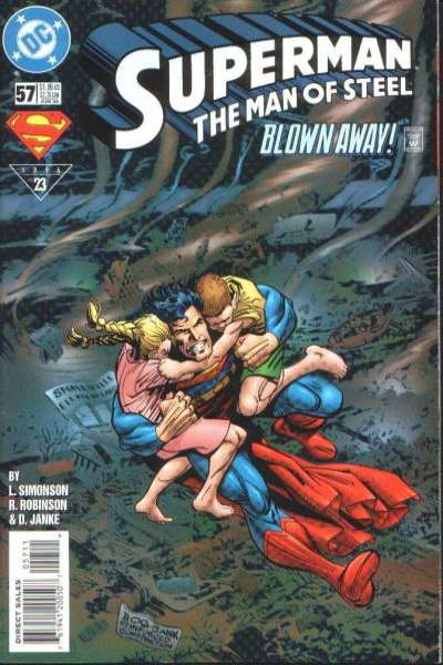 Superman: The Man of Steel #57 Comic Books - Covers, Scans, Photos  in Superman: The Man of Steel Comic Books - Covers, Scans, Gallery