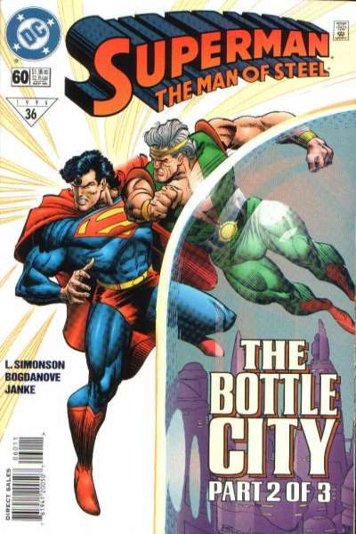 Superman: The Man of Steel #60 Comic Books - Covers, Scans, Photos  in Superman: The Man of Steel Comic Books - Covers, Scans, Gallery