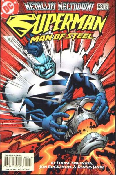 Superman: The Man of Steel #68 Comic Books - Covers, Scans, Photos  in Superman: The Man of Steel Comic Books - Covers, Scans, Gallery