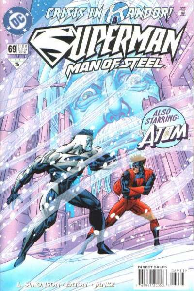 Superman: The Man of Steel #69 Comic Books - Covers, Scans, Photos  in Superman: The Man of Steel Comic Books - Covers, Scans, Gallery