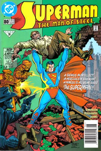 Superman: The Man of Steel #80 comic books - cover scans photos Superman: The Man of Steel #80 comic books - covers, picture gallery