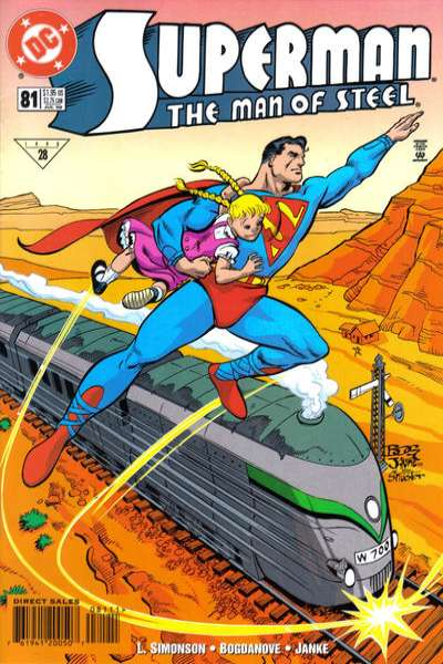 Superman: The Man of Steel #81 comic books for sale