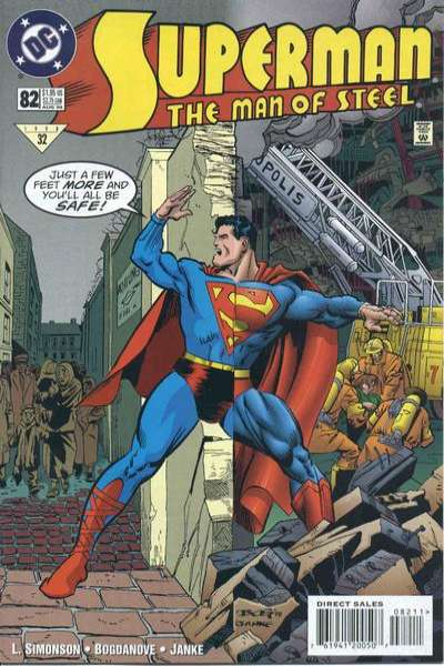 Superman: The Man of Steel #82 comic books for sale