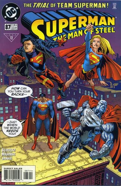 Superman: The Man of Steel #87 comic books for sale