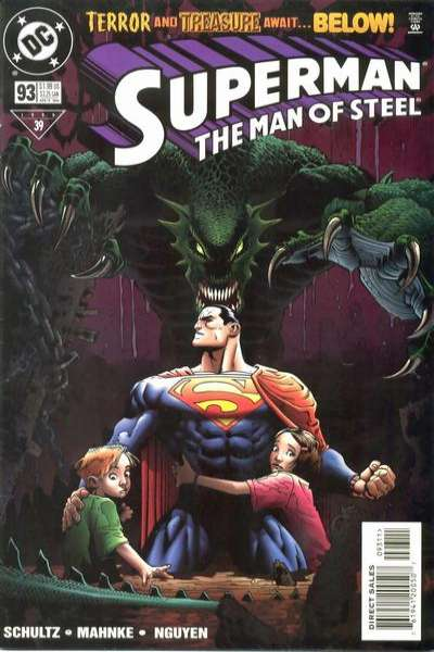 Superman: The Man of Steel #93 comic books - cover scans photos Superman: The Man of Steel #93 comic books - covers, picture gallery