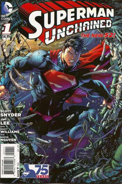 Superman Unchained #1 comic books - cover scans photos Superman Unchained #1 comic books - covers, picture gallery