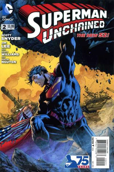 Superman Unchained #2 comic books - cover scans photos Superman Unchained #2 comic books - covers, picture gallery