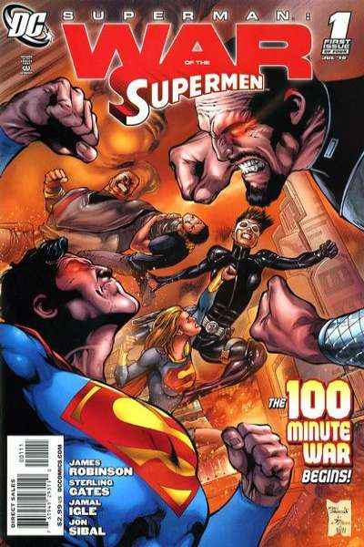 Superman: War of the Supermen comic books