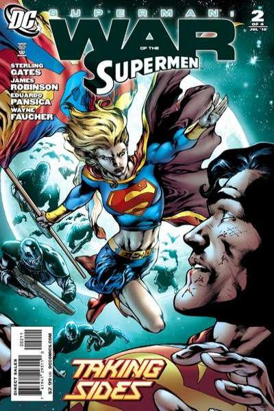 Superman: War of the Supermen #2 comic books - cover scans photos Superman: War of the Supermen #2 comic books - covers, picture gallery