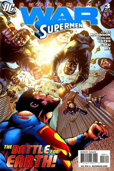 Superman: War of the Supermen #3 comic books - cover scans photos Superman: War of the Supermen #3 comic books - covers, picture gallery