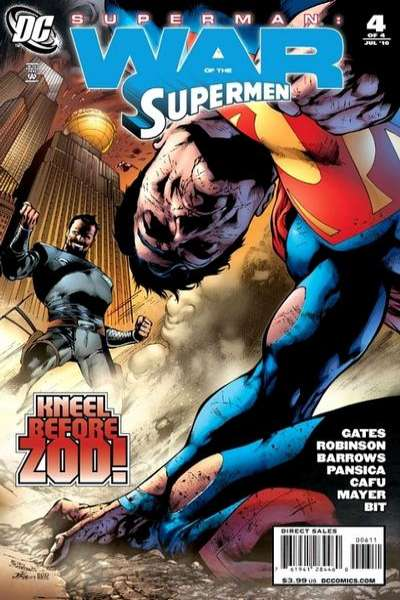 Superman: War of the Supermen #4 comic books - cover scans photos Superman: War of the Supermen #4 comic books - covers, picture gallery
