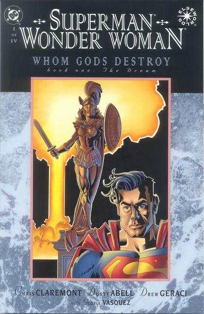 Superman/Wonder Woman: Whom Gods Destroy comic books