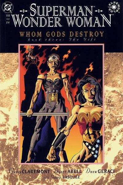 Superman/Wonder Woman: Whom Gods Destroy #3 comic books - cover scans photos Superman/Wonder Woman: Whom Gods Destroy #3 comic books - covers, picture gallery