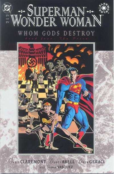 Superman/Wonder Woman: Whom Gods Destroy #4 comic books - cover scans photos Superman/Wonder Woman: Whom Gods Destroy #4 comic books - covers, picture gallery