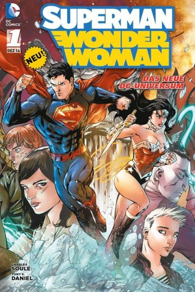 Superman/Wonder Woman comic books