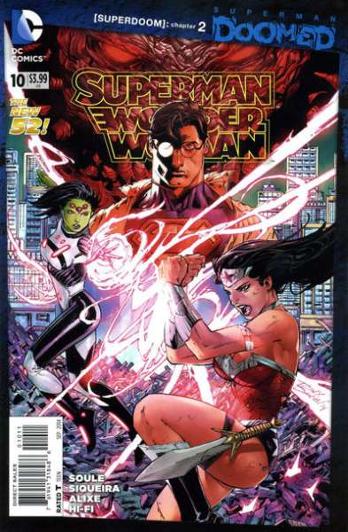 Superman/Wonder Woman #10 comic books - cover scans photos Superman/Wonder Woman #10 comic books - covers, picture gallery