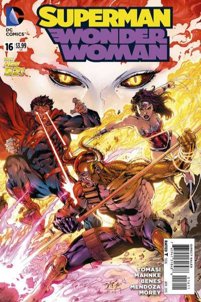 Superman/Wonder Woman #16 comic books for sale