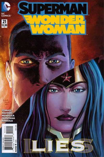 Superman/Wonder Woman #21 Comic Books - Covers, Scans, Photos  in Superman/Wonder Woman Comic Books - Covers, Scans, Gallery