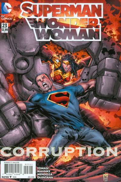 Superman/Wonder Woman #23 Comic Books - Covers, Scans, Photos  in Superman/Wonder Woman Comic Books - Covers, Scans, Gallery
