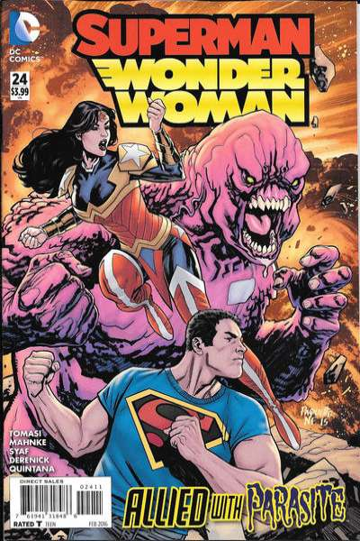 Superman/Wonder Woman #24 Comic Books - Covers, Scans, Photos  in Superman/Wonder Woman Comic Books - Covers, Scans, Gallery