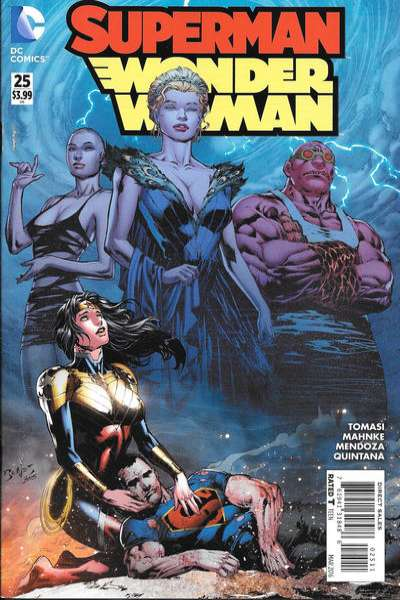Superman/Wonder Woman #25 Comic Books - Covers, Scans, Photos  in Superman/Wonder Woman Comic Books - Covers, Scans, Gallery