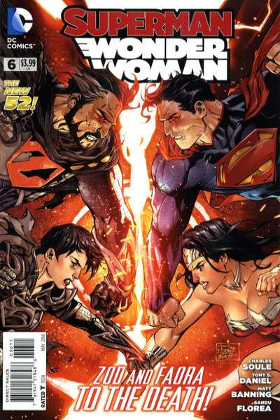 Superman/Wonder Woman #6 comic books - cover scans photos Superman/Wonder Woman #6 comic books - covers, picture gallery