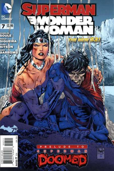 Superman/Wonder Woman #7 comic books for sale