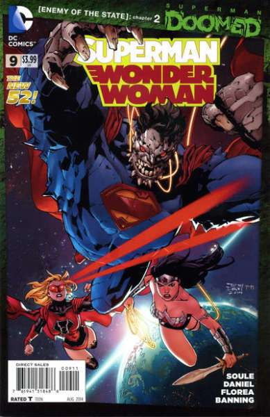 Superman/Wonder Woman #9 comic books - cover scans photos Superman/Wonder Woman #9 comic books - covers, picture gallery