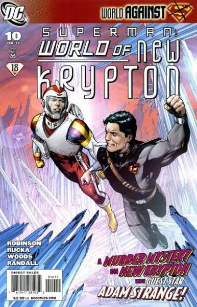 Superman: World of New Krypton #10 Comic Books - Covers, Scans, Photos  in Superman: World of New Krypton Comic Books - Covers, Scans, Gallery