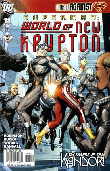 Superman: World of New Krypton #11 Comic Books - Covers, Scans, Photos  in Superman: World of New Krypton Comic Books - Covers, Scans, Gallery