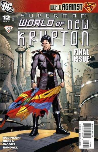 Superman: World of New Krypton #12 Comic Books - Covers, Scans, Photos  in Superman: World of New Krypton Comic Books - Covers, Scans, Gallery