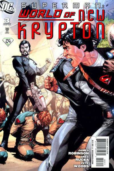 Superman: World of New Krypton #3 comic books for sale