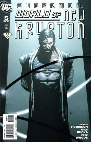 Superman: World of New Krypton #5 Comic Books - Covers, Scans, Photos  in Superman: World of New Krypton Comic Books - Covers, Scans, Gallery