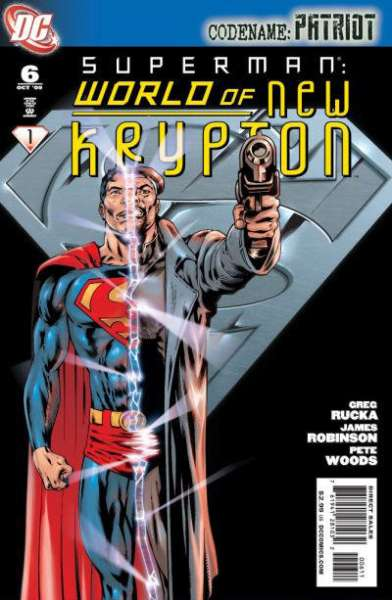 Superman: World of New Krypton #6 Comic Books - Covers, Scans, Photos  in Superman: World of New Krypton Comic Books - Covers, Scans, Gallery