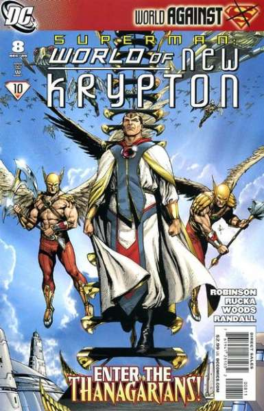 Superman: World of New Krypton #8 comic books for sale