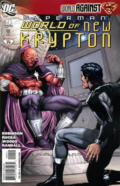 Superman: World of New Krypton #9 Comic Books - Covers, Scans, Photos  in Superman: World of New Krypton Comic Books - Covers, Scans, Gallery
