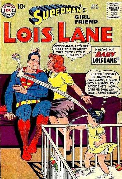 Superman's Girl Friend Lois Lane #10 Comic Books - Covers, Scans, Photos  in Superman's Girl Friend Lois Lane Comic Books - Covers, Scans, Gallery