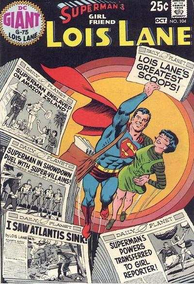 Superman's Girl Friend Lois Lane #104 comic books for sale