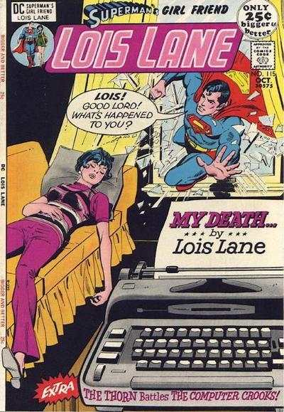 Superman's Girl Friend Lois Lane #115 Comic Books - Covers, Scans, Photos  in Superman's Girl Friend Lois Lane Comic Books - Covers, Scans, Gallery