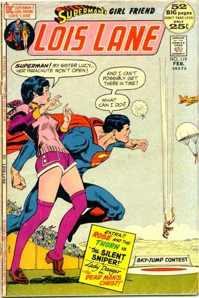 Superman's Girl Friend Lois Lane #119 comic books for sale